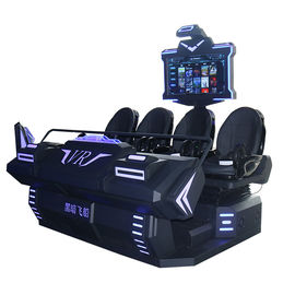 Dynamic Platform New Virtual Reality 9D VR Cinema 4 Seats VR 9D Seats VR Games For Sale