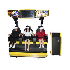 Amusement Park Indoor VR Games Zone Roller Coaster Soft Leather Seats Comfortable